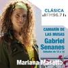 """Logo Mariana Masetto en """"Camarín de las Musas"""" Programa de Gabriel Senanes"""