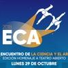 Logo Alejandra Darín invita al 1º Encuentro de la Ciencia y el Arte #ECA2018
