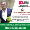 Logo Entrevista a Mario Massaccesi en el programa Torrado intenso, el sabor de la vida