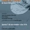 """Logo Daniel Bohm nos invita la presentación de su primera novela """"Fuera de cuadro"""""""