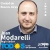 Logo Nota radial con Juan Modarelli candidato a legislador por el Frente de Todos en CABA