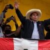 """Logo """"Nos encontramos con una estrategia por parte del fujimorismo de un golpe de Estado blando""""   Perú"""