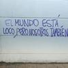 Logo  MARIANO SARAVIA, EL MUNDO ESTA LOCO - CONVERSACION TELEF ENTRE FIDEL Y FOX