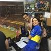 Logo Entrevista a Alejandro Gómez - la voz del estadio de Boca Juniors