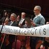 Logo Orquesta Sinfónica Nacional, proclama antes del concierto del 24 de Mayo de 2019 - CCK