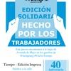 Logo Tiempo Argentino volverá a la calle este 24 de marzo