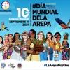 Logo Día Mundial de la Arepa: este año celebraremos durante todo septiembre