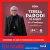 Logo EP  Teresa Parodi previo a su show en el Teatro Roma