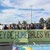 """Logo """"Defendamos los humedales"""" - Diputado Giordano (Izquierda Socialista) Radio Buenos Aires"""