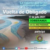 """Logo Movilización y actividades """"Por una segunda Vuelta de Obligado""""  Por la soberanía en el río Paraná"""