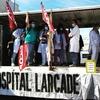 Logo Hospital Larcade: renuncian 50 profesionales del área de Cardiología y Clínica Médica