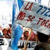 Logo Minería en Mendoza : Miles de personas están en Casa de Gobierno contra la reforma a la 7.72
