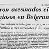 Logo La Mañana de Víctor Hugo en AM 750 - 40 años de la Masacre de San Patricio - 04/07/2016