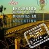 Logo Encuentro Nacional de Líderes Migrantes en la @UNLaOficial. Hablamos con Marta Guerreño López.
