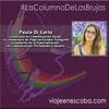 Logo #LaColumnadeLasBrujas por Paula Di Carlo. La previa al 32 Encuentro Nacional de Mujeres