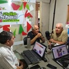 Logo Perfiles de opinión con Mario Cardozo y Guillermo Urdinez