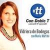 Logo Vidriera de Bodegas. #ConDobleT. 24 de octubre