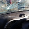 Logo Amenazan con un hacha a conductor en Corte de Ruta 40 camino a Esquel