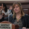 Logo Entrevista a Florencia Saintout por Continental