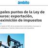 Logo Los subsidios petroleros son para cinco vivos (Julio De Vido)