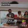 Logo Pablo Dacovich - Actividades de la Juventud de ATILRA - Tendencia Sindical- Radio Atilra