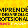 Logo IT Academy, un programa de inserción laboral y capacitación de Mercado Libre