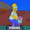 """Logo """"YENDING"""": LAS PALABRAS DE LAS REDES SOCIALES"""