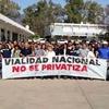 Logo sindical#mente /radioconaguante/ reportaje a María del Carmen Burgos ATE-VIALIDAD (OCOVI)