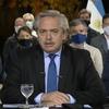 Logo entrevista al presidente Alberto Fernández