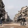 Logo Diez años de guerra en Siria
