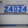 Logo Informe del Instituto Patria sobre los despidos en el Estado: Claudia Bernaza