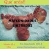 Logo Que Arda!! - Maternidades Liberadas-