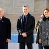 Logo La encuesta sobre la imagen de Monica Fein, Miguel Lifschitz y Mauricio Macri- Variego