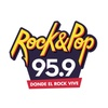 Logo bandana en fm rock and pop
