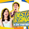 logo DESTA & GINA IN THE MORNING