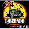 Logo Oscar Videla en 4x4 Liberado