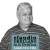 logo Claudio Orellano en la Gráfica