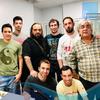 Logo #MaradonaEterno - Desde Napoli, Alessandro Montano colega de Radio Punto Nuovo