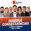 Logo Embajador Bordon en radio El Destape con Ari Lijalad