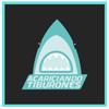 Logo Acariciando tiburones