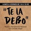 """Logo Carlos Caramello sobre su nuevo libro """"Los profetas del odio"""", en #TeLaDebo con @conrado_geiger"""