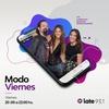 Logo Cande Bulla en Modo Viernes por Radio Late
