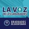 logo La Voz de lxs Graduadxs - Club de Graduadxs UNDAV