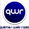 Logo Quilmes Web Radio, de Quilmes al Mundo