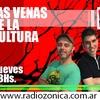 """Logo Patricia Díaz Bialet entrevistada por Charly Zárate en """"Las venas de la cultura"""" Radio Zónica"""