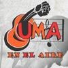 logo UMA en el aire