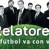 Logo RELATORES, con VICTOR HUGO. El Fútbol va con vos