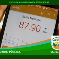 Logo Radio Municipal 87.9