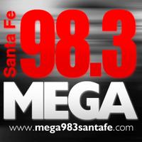 Logo MEGA 98.3 SANTA FE