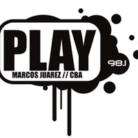 Logo FM Play (Marcos Juarez - CBA)